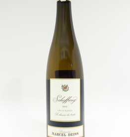 Wine-White-Rich Domaine Marcel Deiss Alsace AOC 1er Cru Schoffweg Vineyard 2012