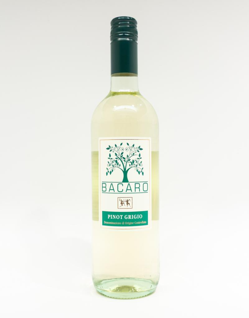 Wine-White-Crisp Bacaro Pinot Grigio Friuli DOC 2018