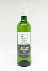 Wine-White-Crisp Domaine de Pajot 4 Cepages Cotes du Gascogne IGP 2018