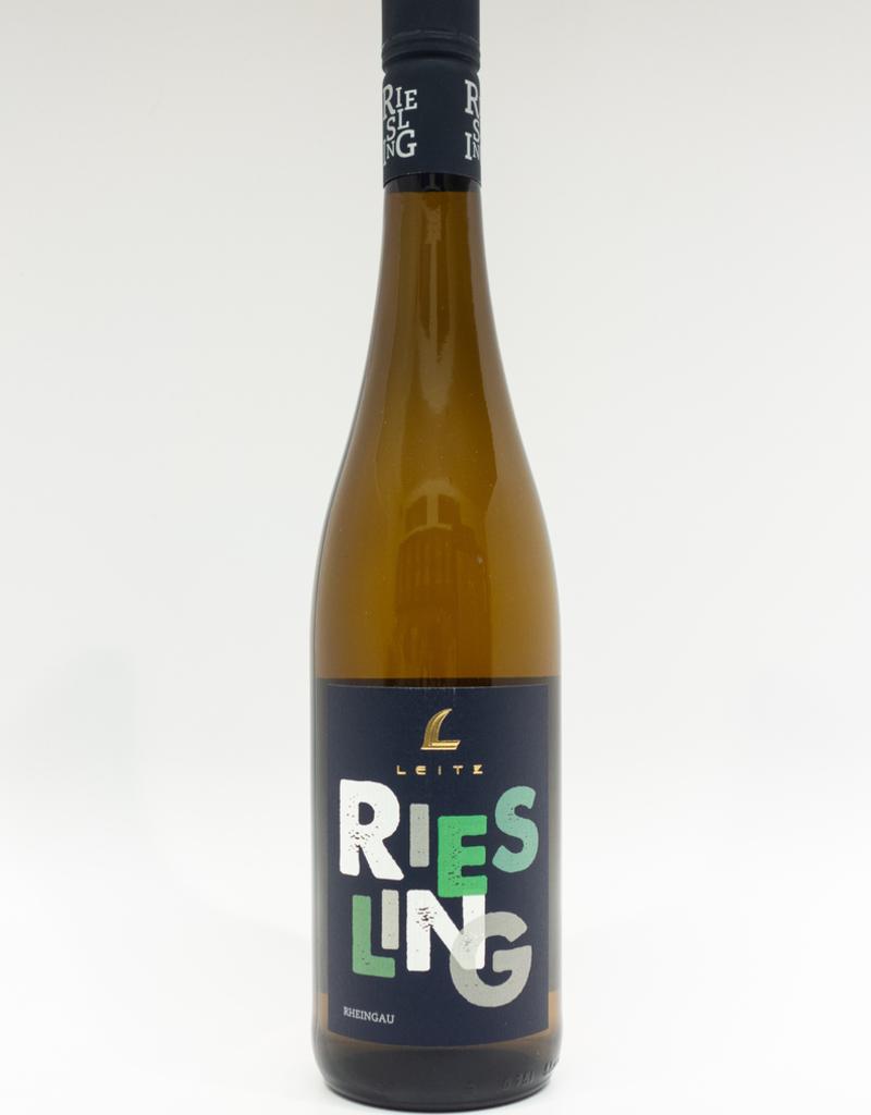 Wine-White-Crisp Leitz Riesling QbA Feinherb Rheingau 2017