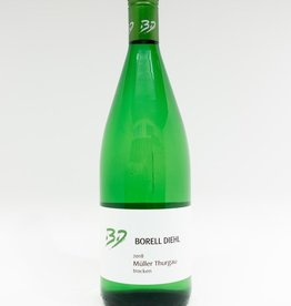 Wine-White-Crisp Borell Diehl Muller-Thurgau Trocken Pfalz 2018 1L