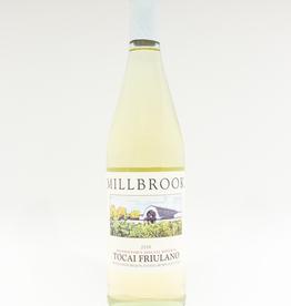 Wine-White-Round Millbrook Winery Tocai Friulano Hudson River Region 2018