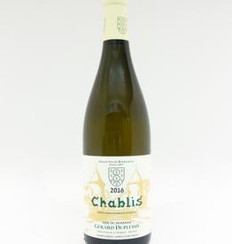 Wine-White-Crisp Gerard Duplessis Chablis AOC 2016