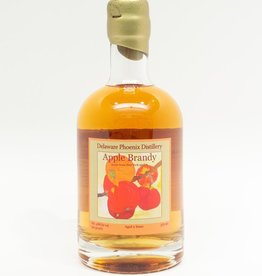 Spirits-Brandy/Grappa/Eau-de-Vie Delaware Phoenix Distillery Apple Brandy 375