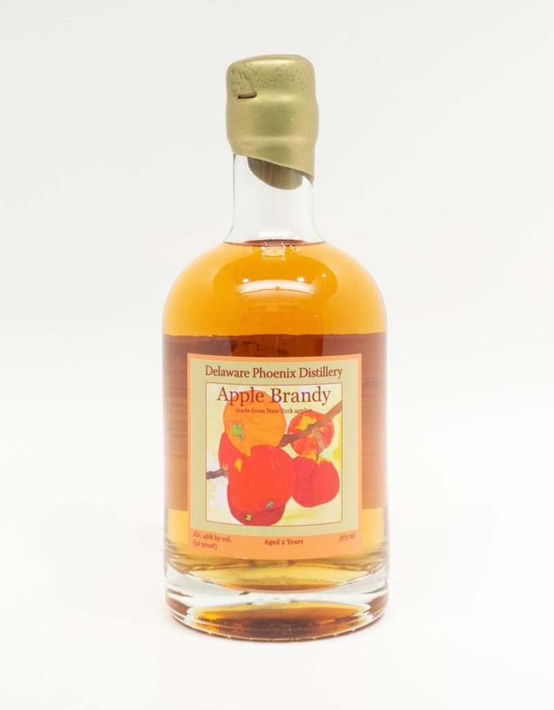 Spirits-Brandy/Grappa/Eau-de-Vie Delaware Phoenix Distillery Apple Brandy 375
