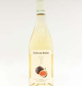Wine-White-Round Domaine de la Bastide Figue Blanc Cotes du Rhone AOC 2018