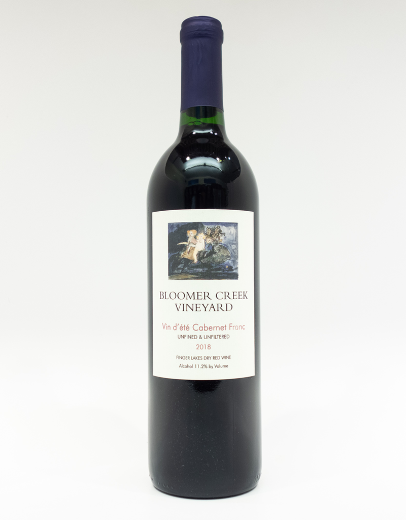 Wine-Red-Light Bloomer Creek Vineyard Cabernet Franc Vin d'ete Finger Lakes 2018