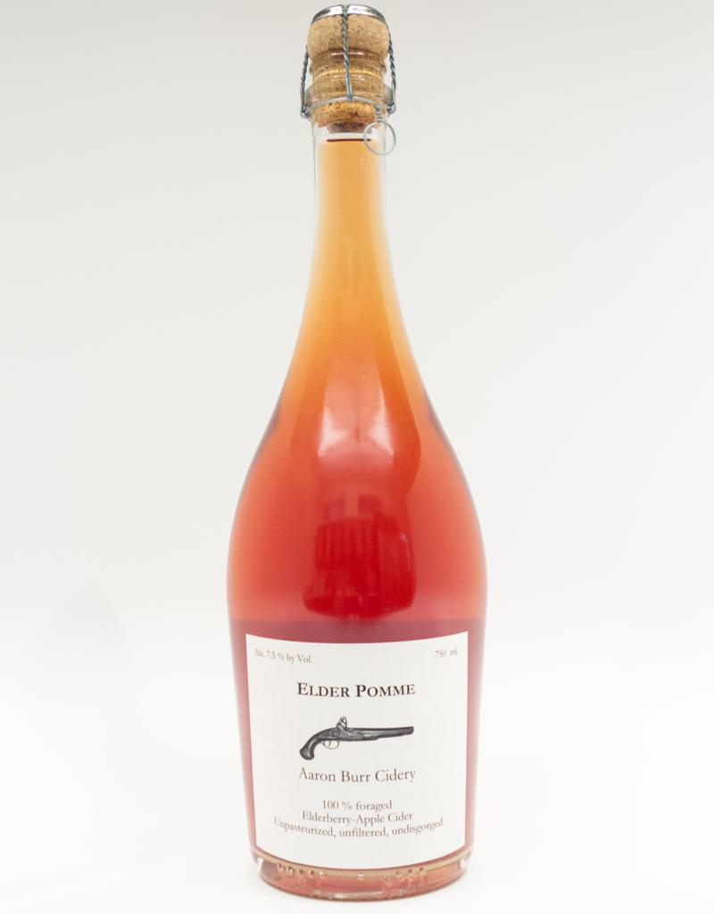 Cider-US-New York State Aaron Burr Cidery 'Elder Pomme' 2018