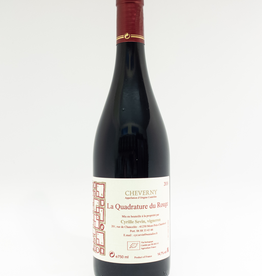 Wine-Red-Lush Cyrille Sevin 'La Quadrature du Rouge' Cheverny AOC 2018