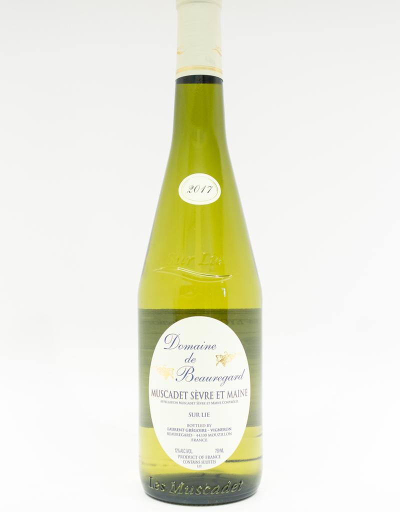 Wine-White-Crisp Domaine de Beauregard Muscadet Sevre et Maine AOC 2017