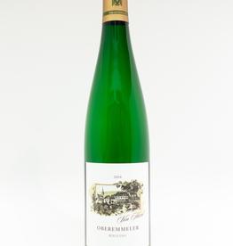 Wine-White-Crisp Von Hovel Riesling Feinherb Oberemmeler Mosel 2014