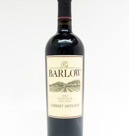 Wine-Red-Big Barlow Cabernet Sauvignon Napa Valley Calistoga 2013
