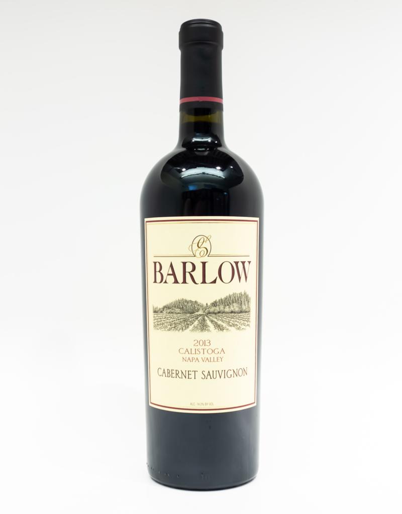 Wine-Red-Big Barlow Cabernet Sauvignon Napa Valley Calistoga 2013