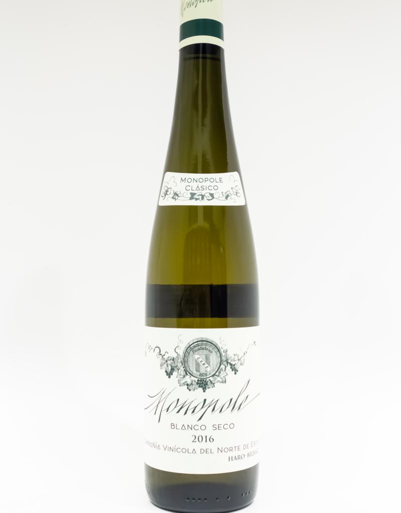 Wine-White-Crisp CVNE Rioja DOCa Blanco 'Monopole Clasico' 2016