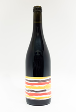 Wine-Red-Light Floral Terranes 'MX' Red Blend North Fork of Long Island 2018
