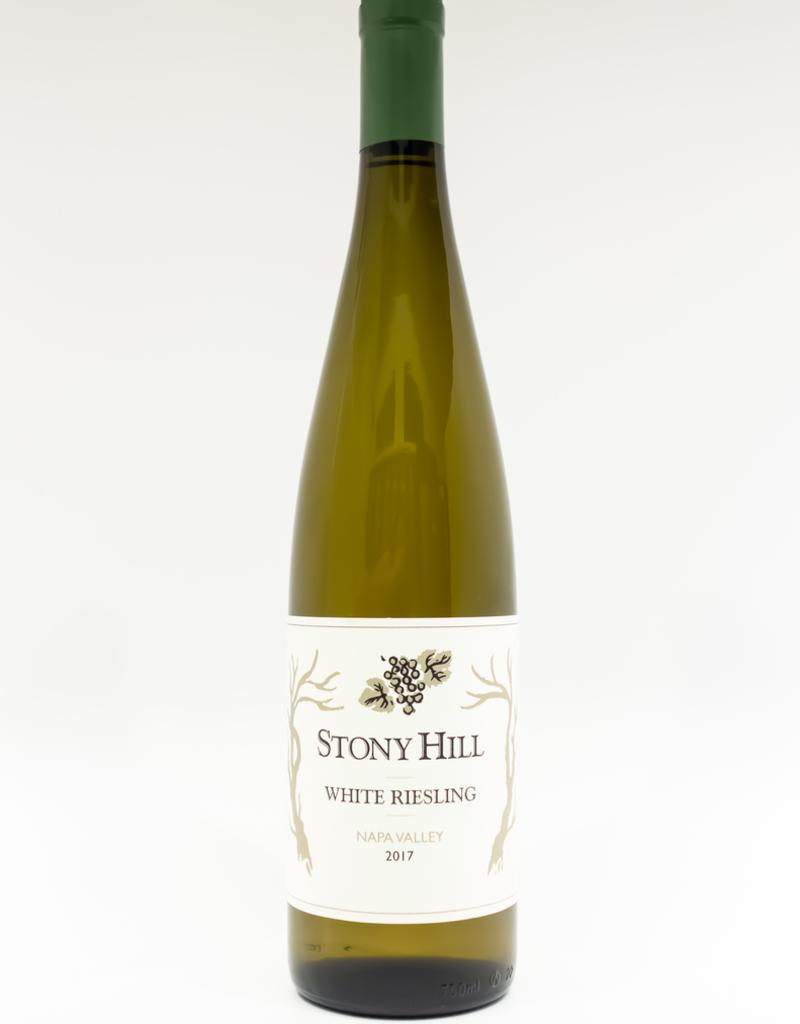 Wine-White-Round Stony Hill Vineyard White Riesling Napa Valley 2017