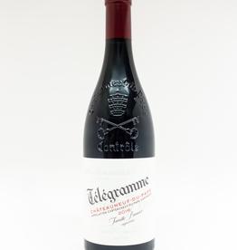 Wine-Red-Big Domaine du Vieux Telegraphe 'Telegramme' Chateauneuf-du-Pape AOC 2016