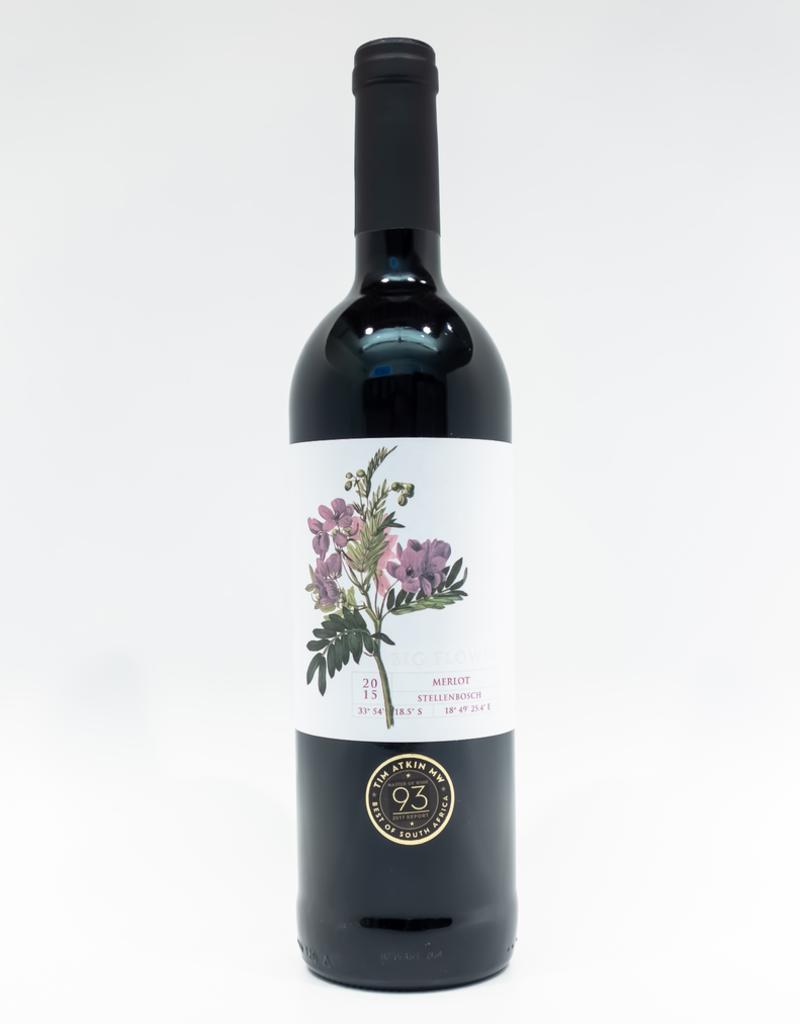 Wine-Red-Big Big Flower Merlot Stellenbosch WO 2015