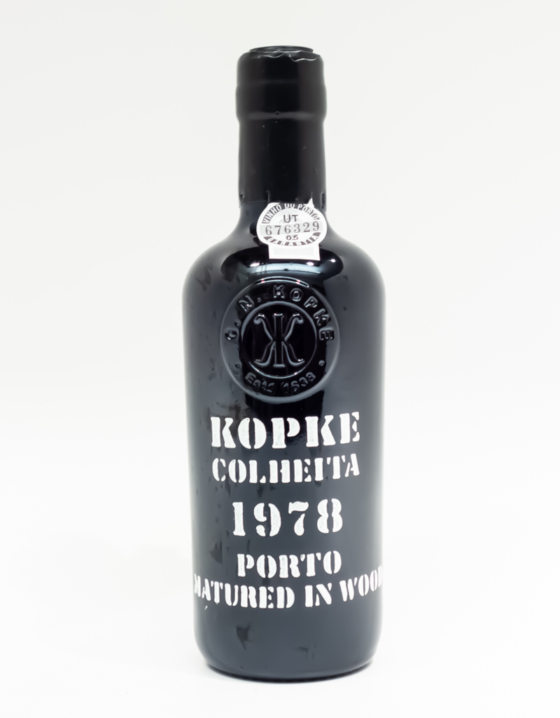 Wine-Fortified-Port Kopke Colheita Porto 1978 375ml