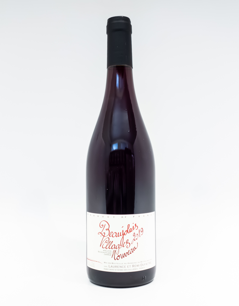 Wine-Red-Light Remi Dufaitre Beaujolais-Villages AOC Nouveau 2019