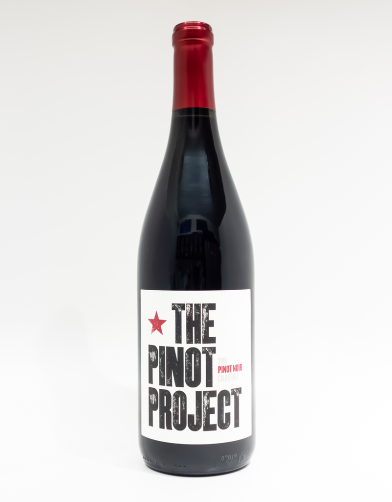 Wine-Red-Lush The Pinot Project Pinot Noir California 2018