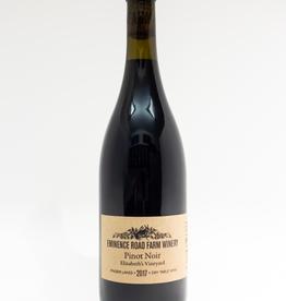 Wine-Red-Light Eminence Road Farm Winery Pinot Noir Finger Lakes Elizabeth's Vineyard 2017