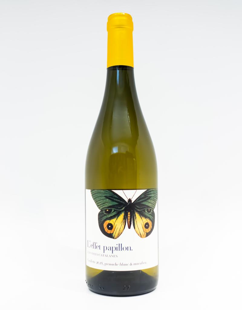 Wine-White-Round L'Effet Papillon Cotes Catalanes IGP Blanc 2018