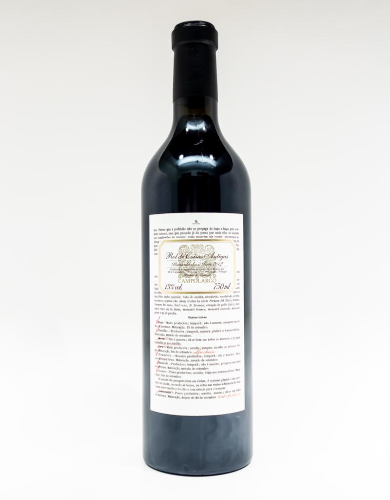 Wine-Red-Lush Campolargo 'Rol de Coisas Antigas' Tinto Bairrada 2012