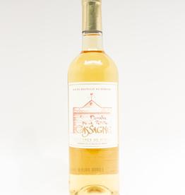 Wine-White-Round Domaine de La Petit Cassagne Blanc Costieres de Nimes 2016