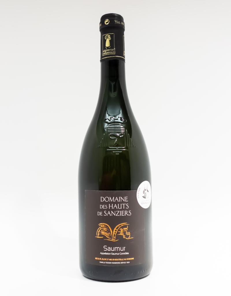 Wine-White-Round Domaine de Hauts de Sanziers Saumur AOC 2016