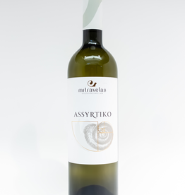 Wine-White-Round Mitravelas Assyrtiko Peloponnese PGI 2018