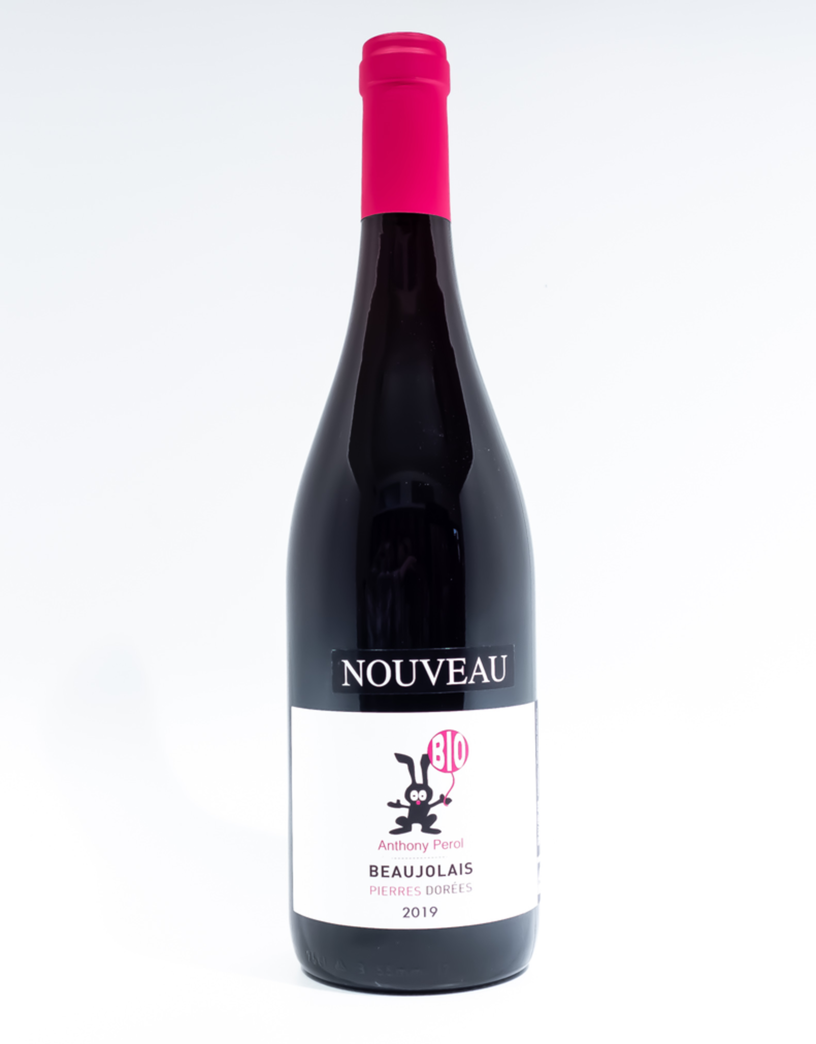 Wine-Red-Light Anthony Perol Beaujolais AOC Nouveau 2019