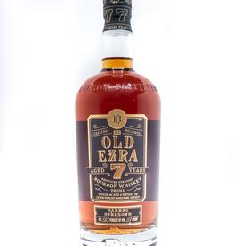 Spirits-Whiskey-Bourbon Ezra Brooks 'Old Ezra' 7 Year Barrel Strength Bourbon Whiskey