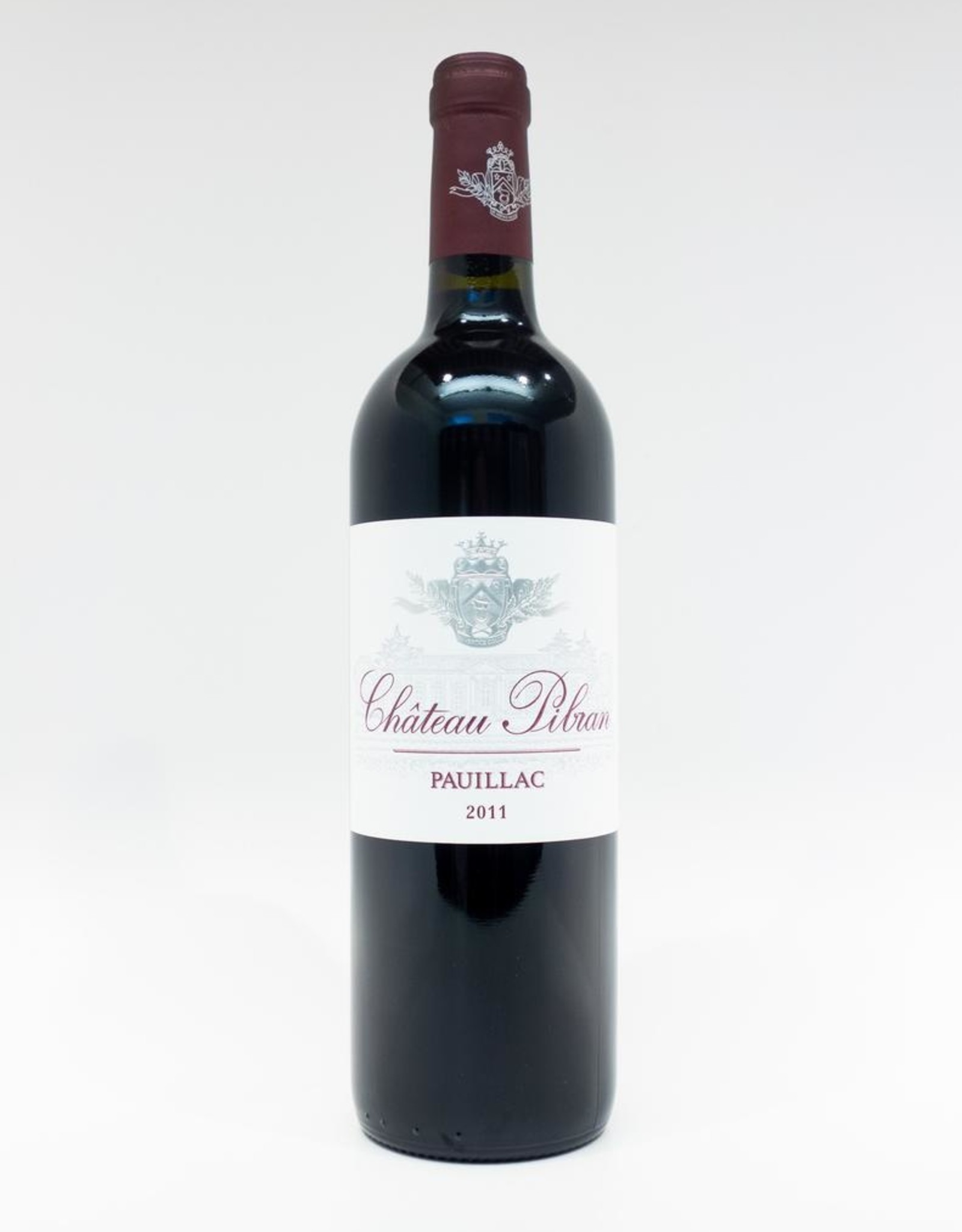 Wine-Red-Big Chateau Pibran Pauillac AOC 2011