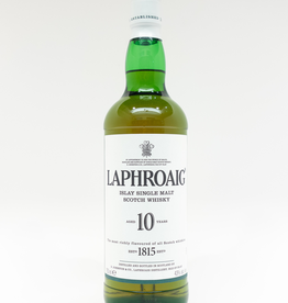 Spirits-Whiskey-Scotch-Single-Malt Laphroaig 10 Year Old Single Malt Whisky 750ml