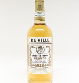 Spirits-Brandy/Grappa/Eau-de-Vie De Ville French Brandy 1L