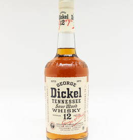 Spirits-Whiskey-Tennessee George Dickel Tennessee Whisky No. 12 750ml