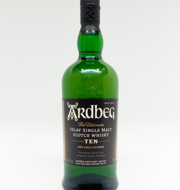 Spirits-Whiskey-Scotch-Single-Malt Ardbeg 10 Year Old Single Malt Scotch Whisky 750ml