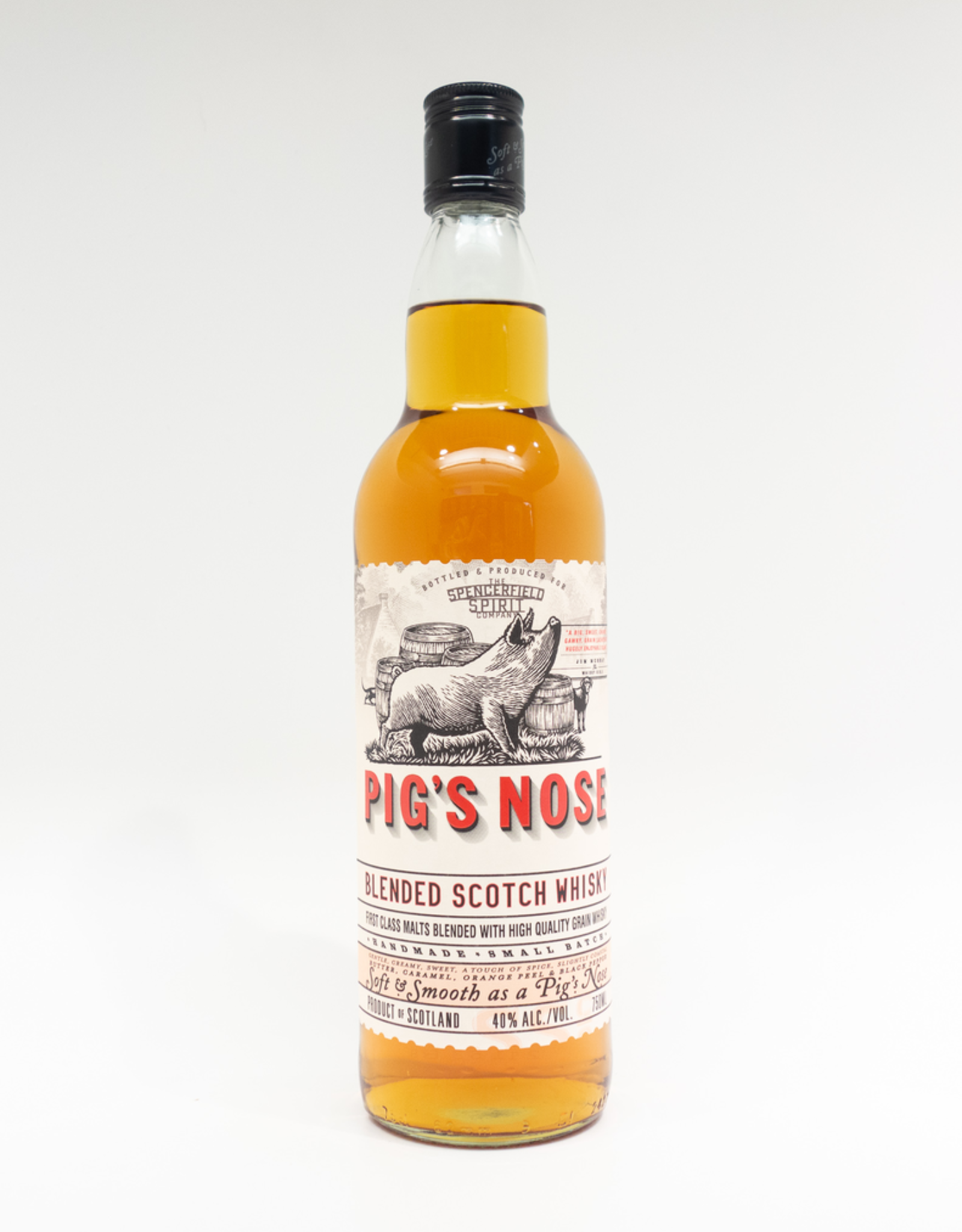 Spirits-Whiskey-Scotch-Blended Pig's Nose Blended Scotch Whisky 750ml
