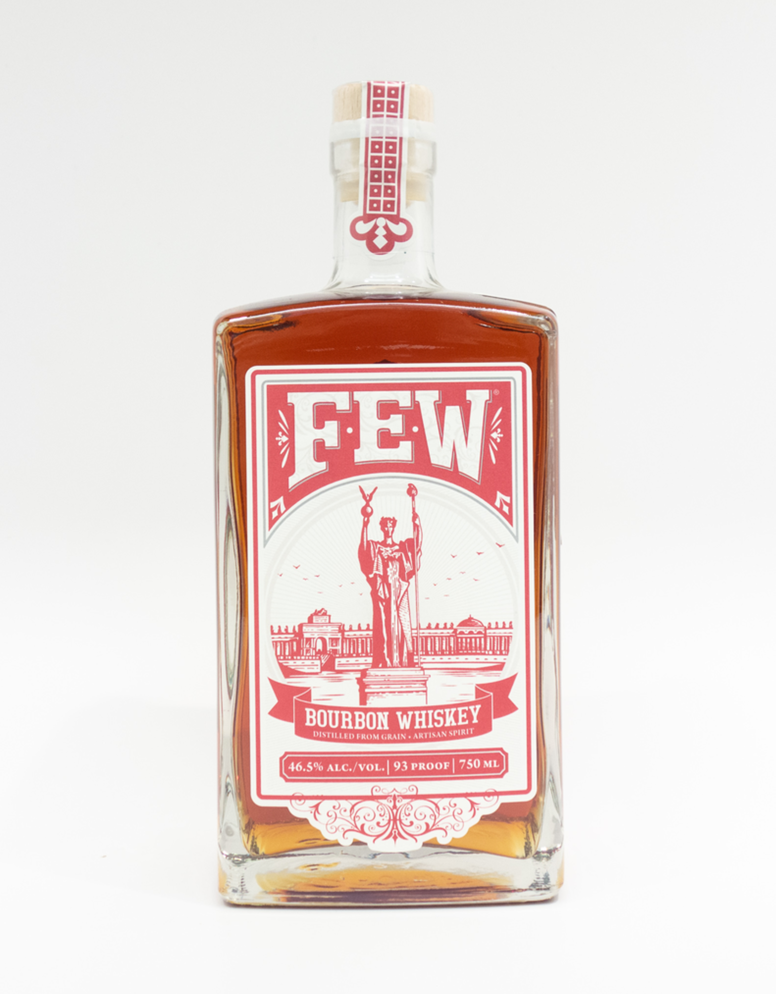 Spirits-Whiskey-Bourbon Few Spirits Bourbon 750ml