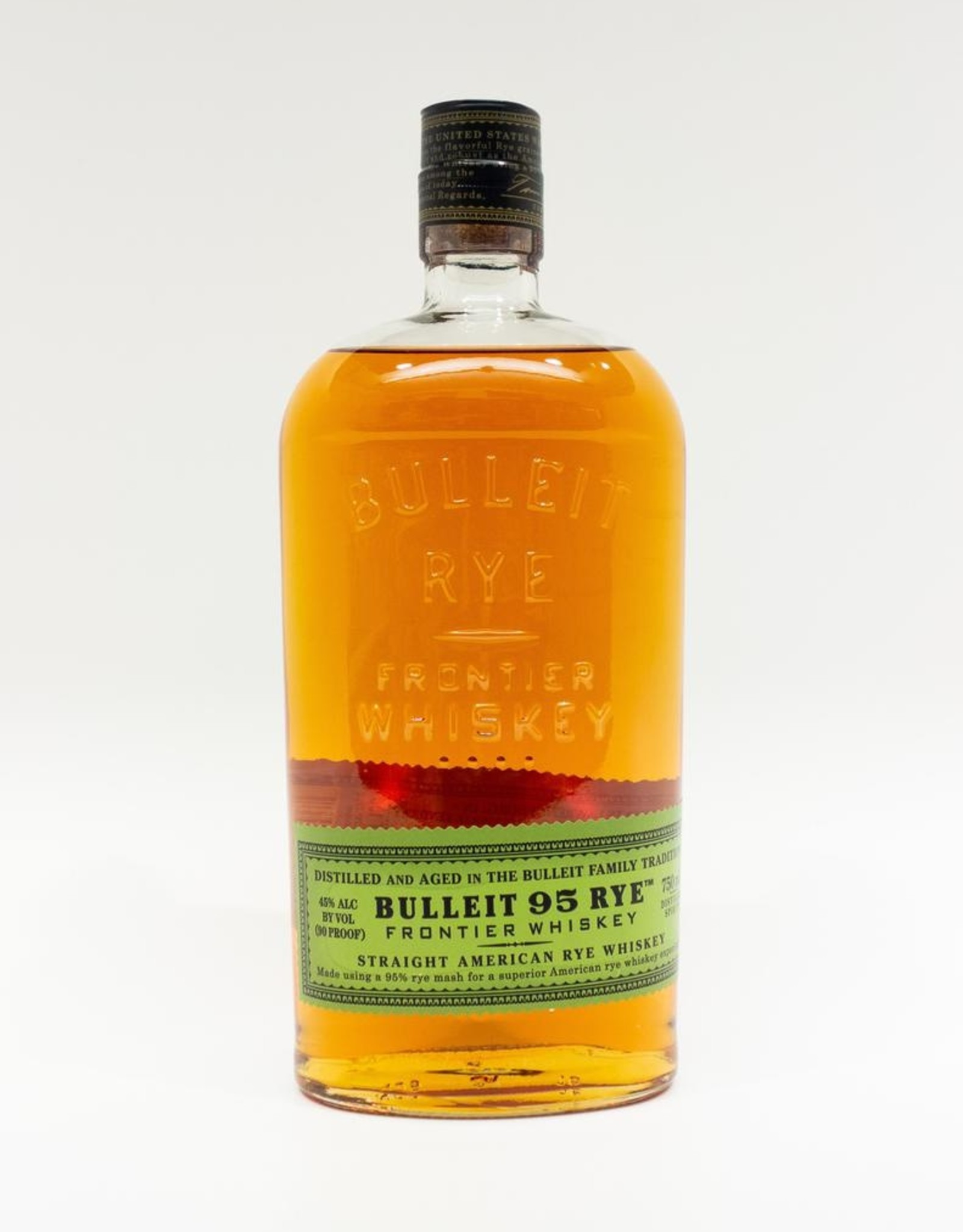 Spirits-Whiskey-Rye Bulleit Small Batch Rye Whiskey 750ml
