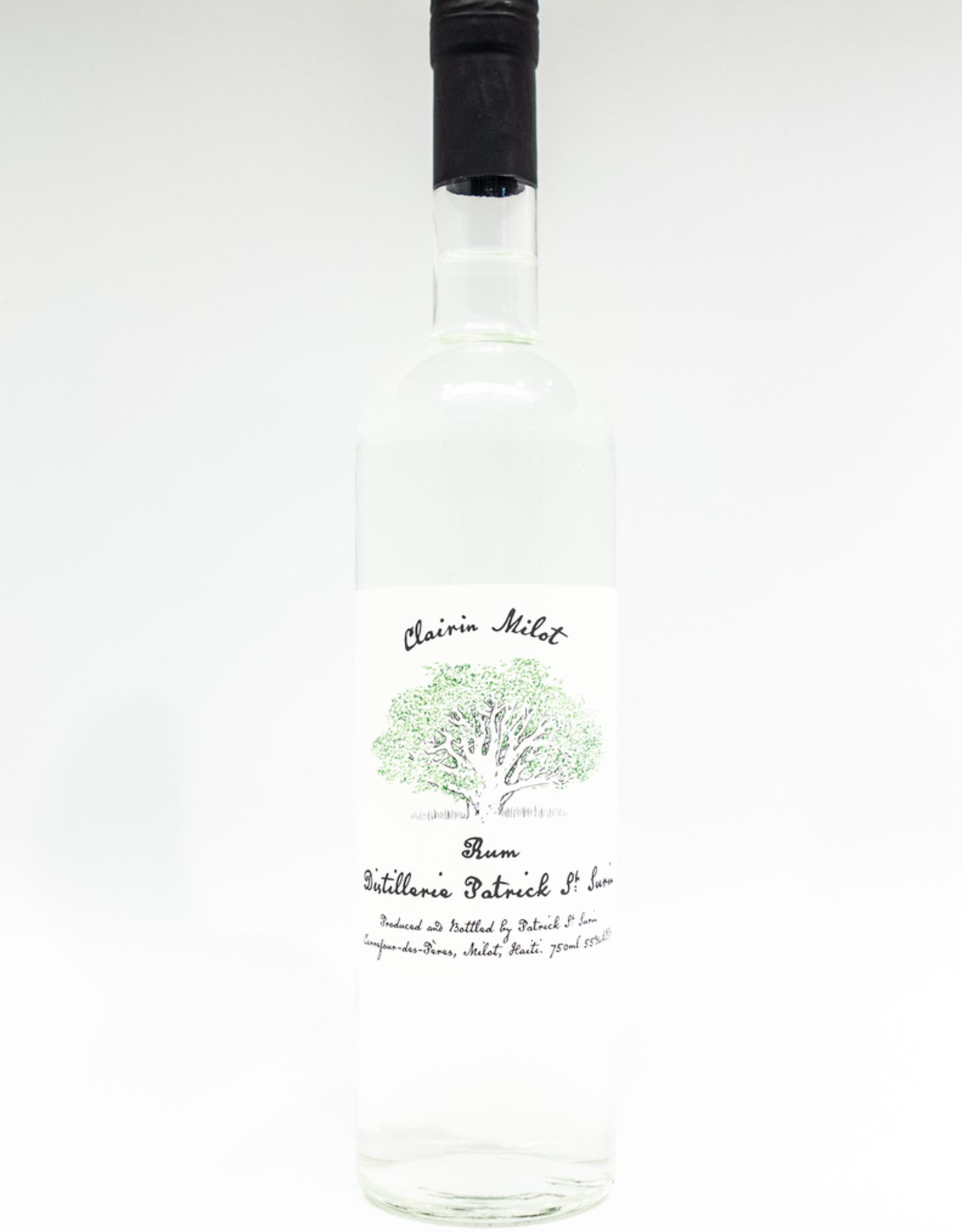 Spirits-Rum-White Patrick St. Surin Clairin Milot Rum Haiti 750ml