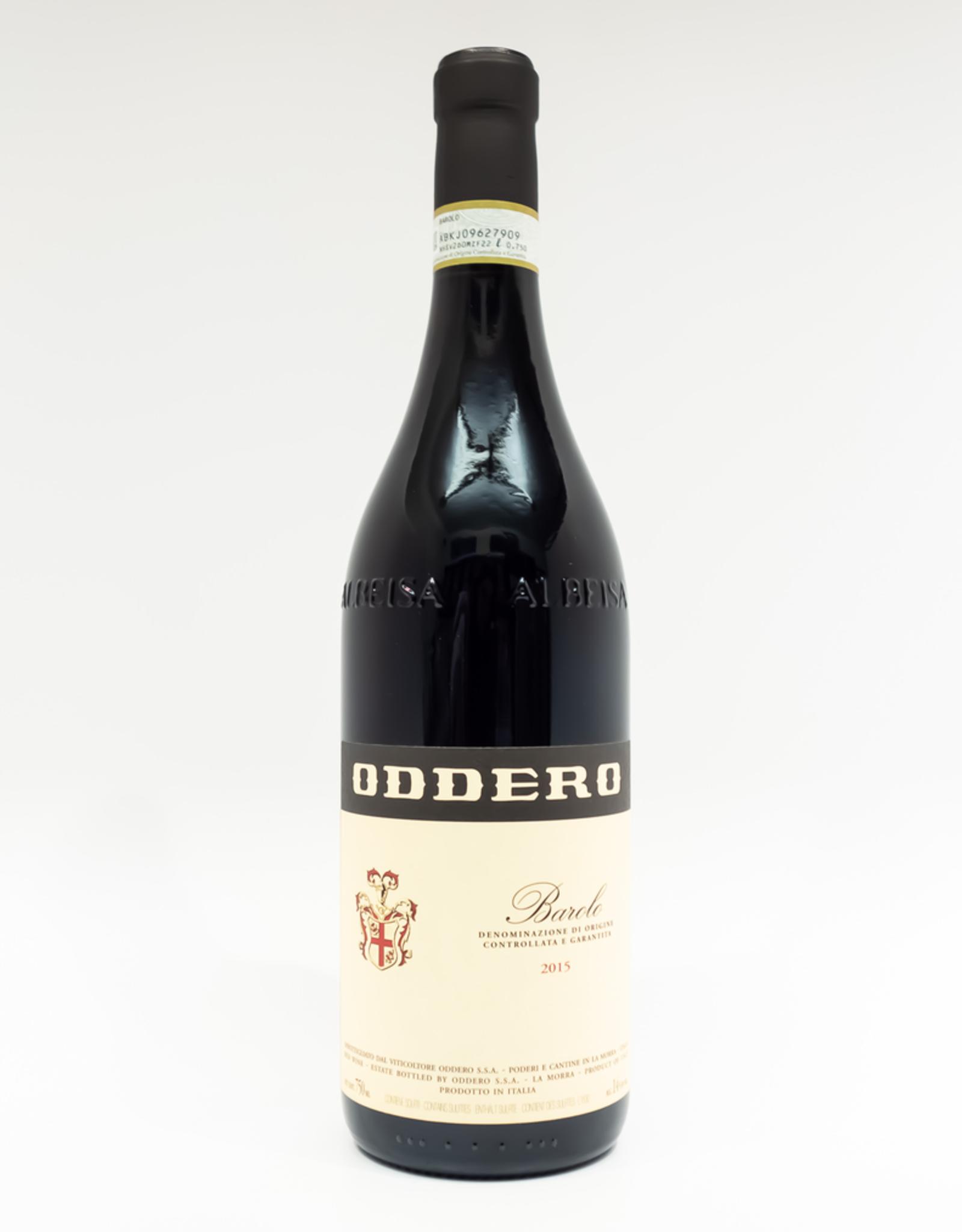 Wine-Red-Big Oddero Barolo DOCG 2015