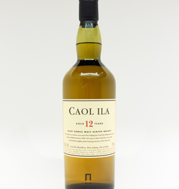 Spirits-Whiskey-Scotch-Single-Malt Caol Ila Islay 12 Year Old Single Malt Scotch Whisky 750ml
