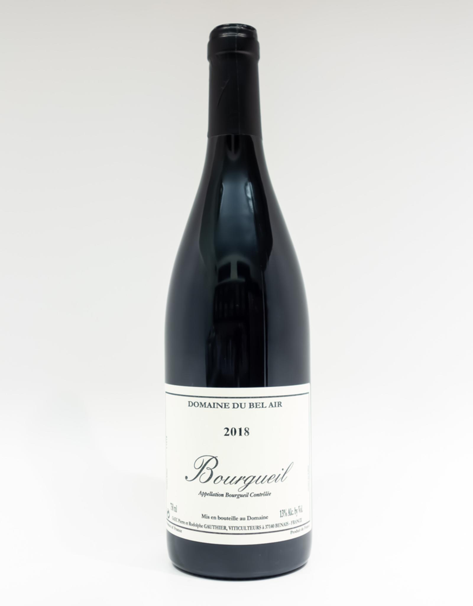 Wine-Red-Lush Domaine du Bel Air Bourgueil AOC 2018