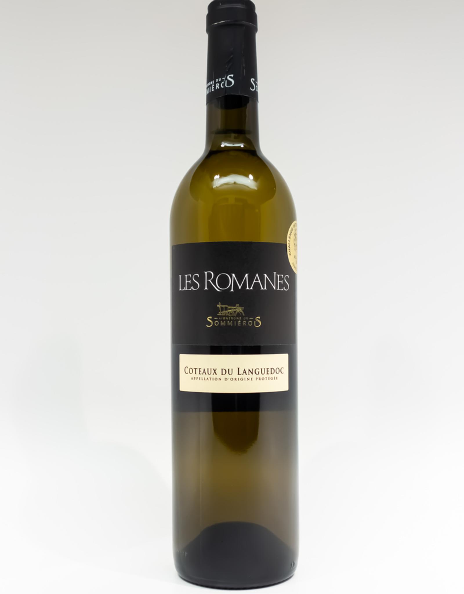 Wine-White-Rich Vignerons du Sommierois 'Les Romanes' Blanc Coteaux du Languedoc AOP 2016