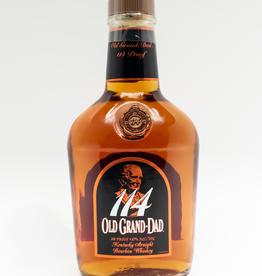 Spirits-Whiskey-Bourbon Old Grand-Dad 114 Proof Kentucky Straight Bourbon Whiskey 750ml