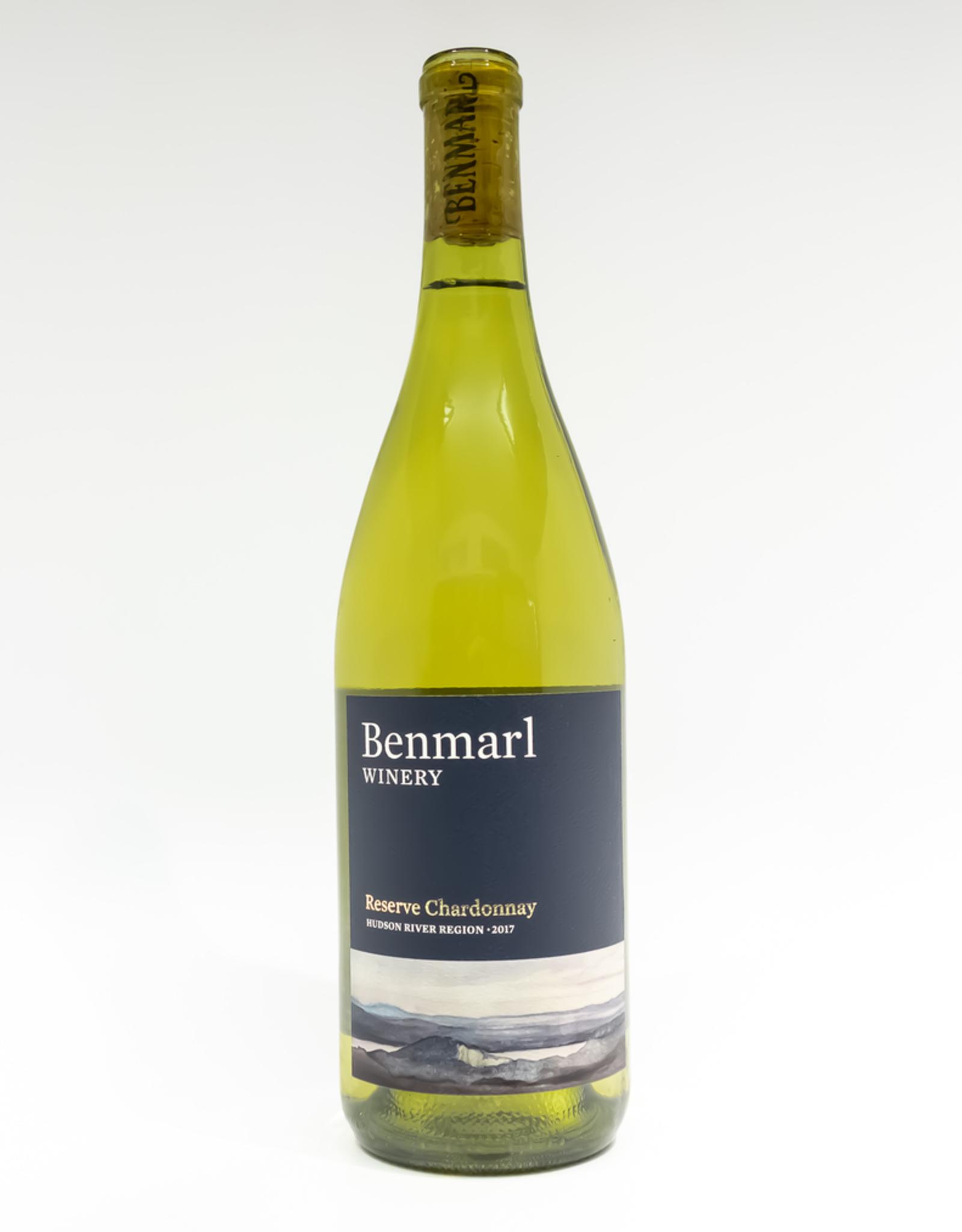 Wine-White-Round Benmarl Winery Reserve Chardonnay Hudson River Region 2017