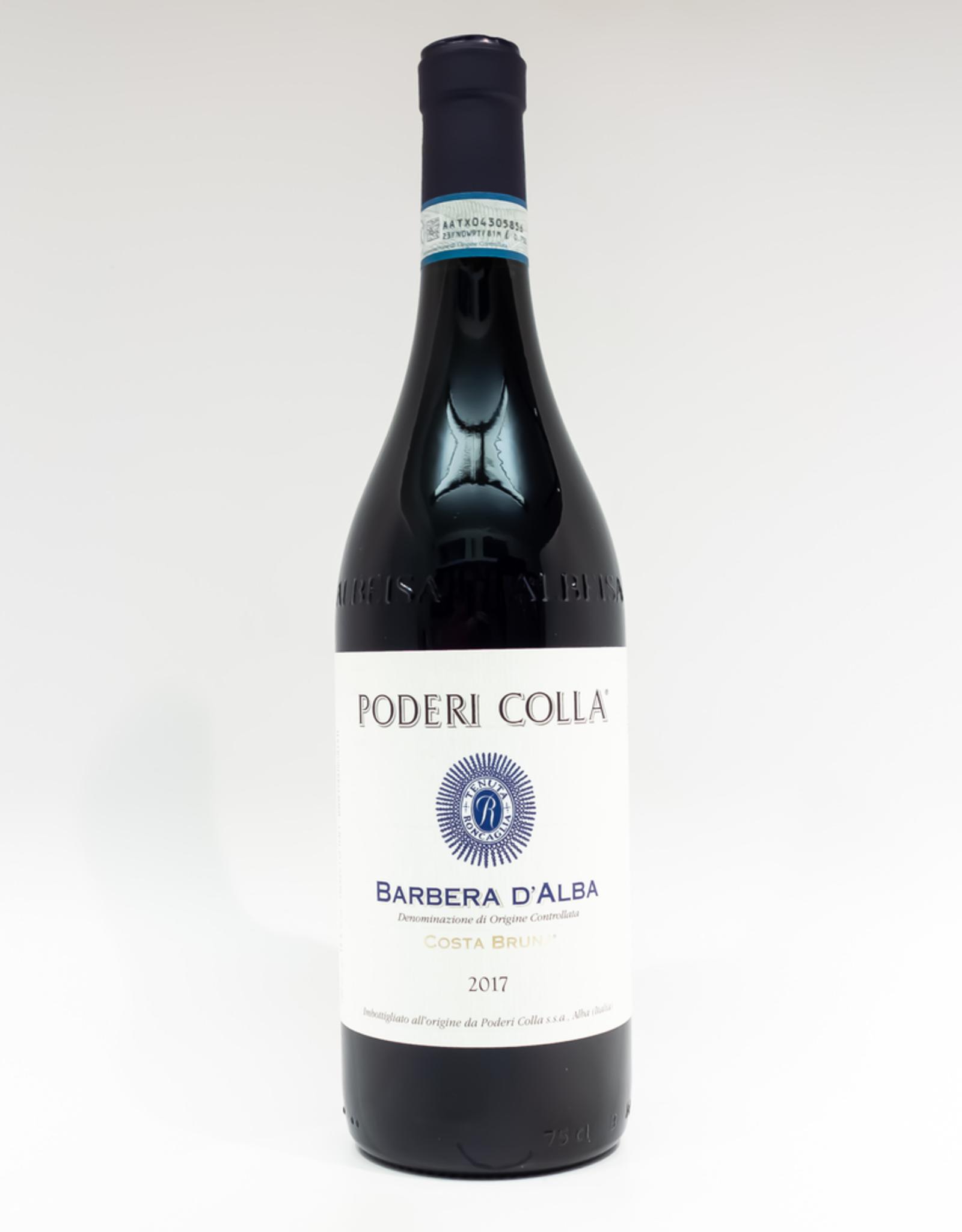 Wine-Red-Lush Poderi Colla Costa Bruna Barbera d'Alba DOC 2017