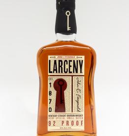 Spirits-Whiskey-Bourbon Larceny Small Batch 92 Proof Bourbon 750ml